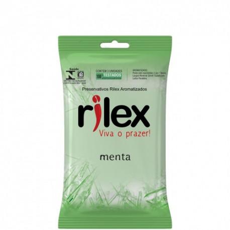 Preservativo aromatizado menta Rilex